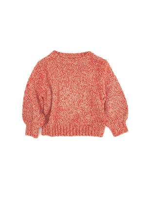 Long Live The Queen Rough sweater - sand twist