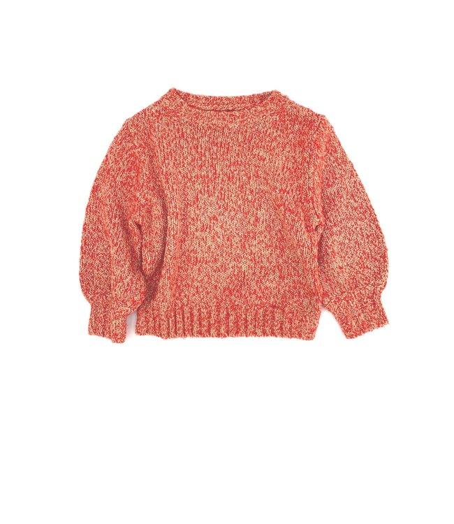 Rough sweater - sand twist