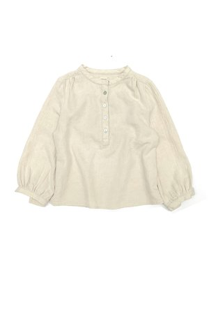 Long Live The Queen Blouse - sand