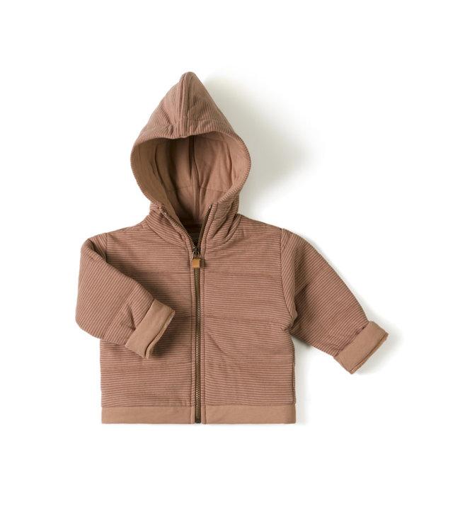 Baby jacket stripe - jam