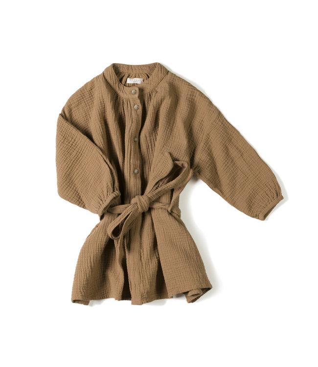 Nixnut Cord dress - toffee