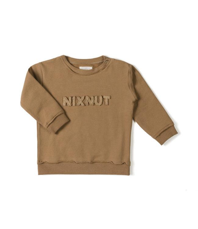 Nixnut Nix sweater - toffee