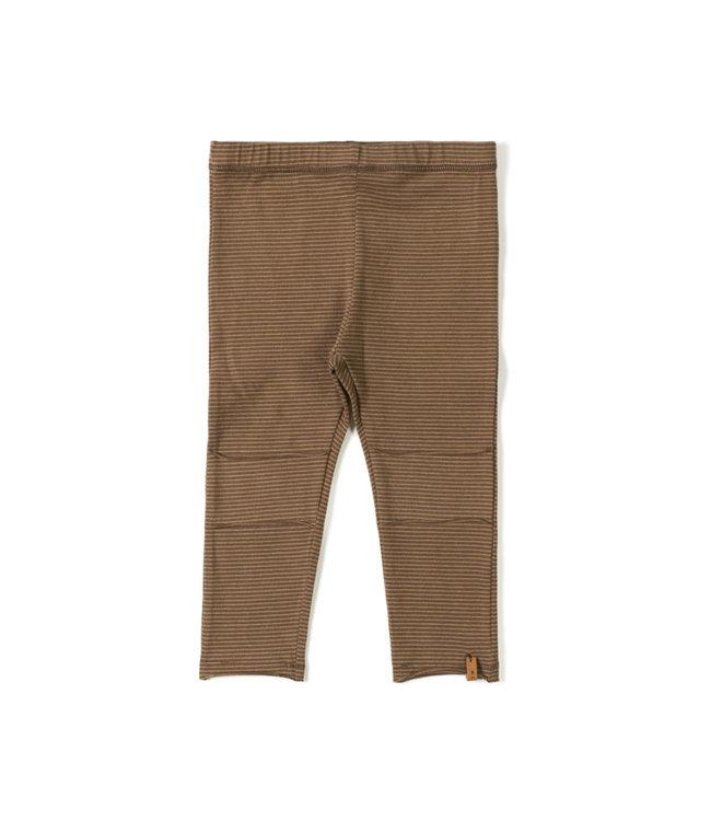 Nixnut Tight legging - stripe toffee