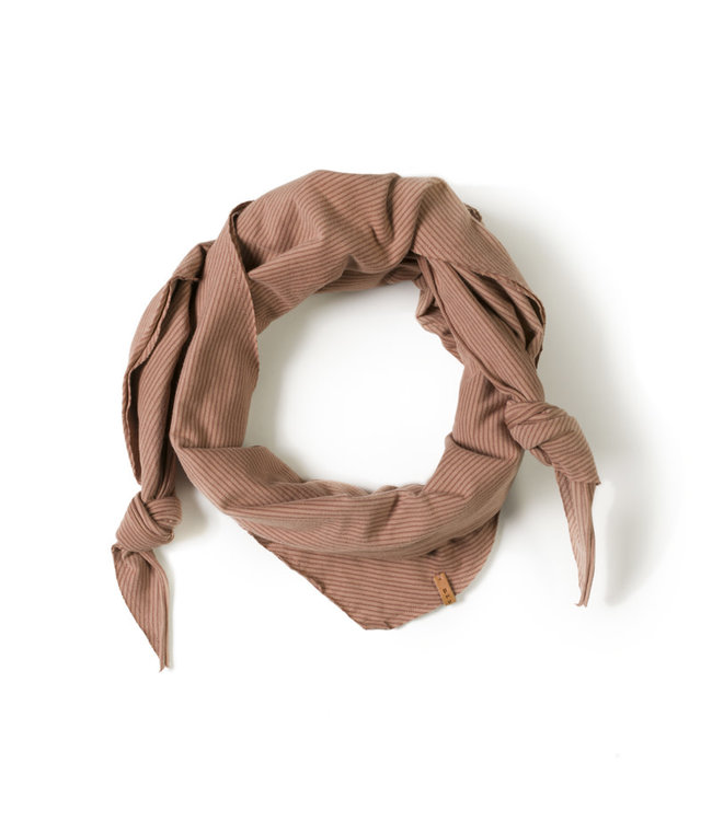 Triangle scarf - stripe jam