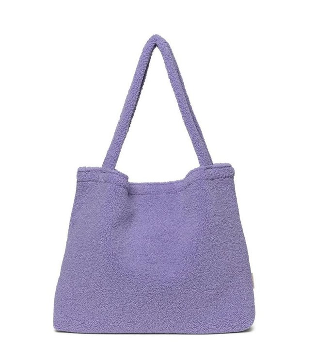 Pastel lilac mom-bag