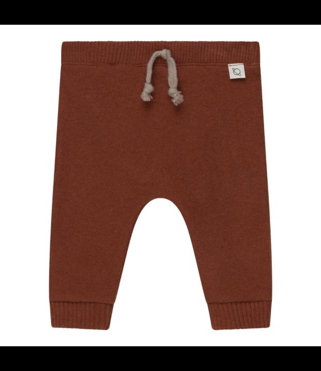 Rune baby sweatpants recycled - brown