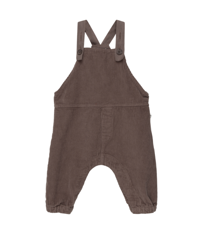 My little cozmo Noa organic baby overalls - taupe