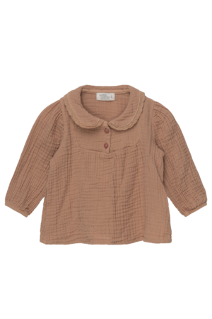 My little cozmo Maria organic baby blouse - pink