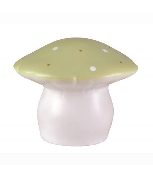 Paddenstoel lamp olijf - M