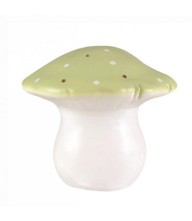 Paddenstoel lamp olijf - L