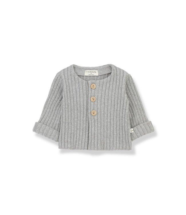 Violette newborn jacket grey