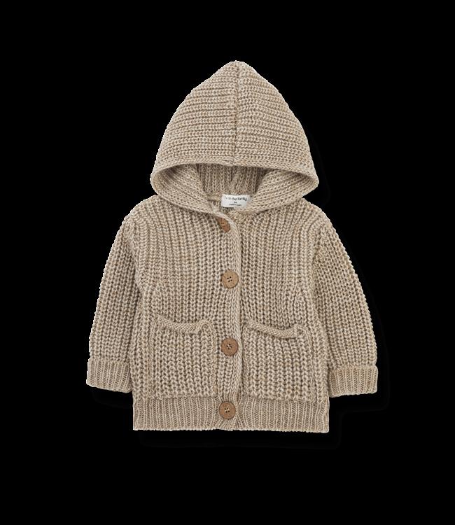 Ubald newborn jacket - beige