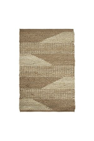 Tine K Home Jute carpet, two-colored pattern - natural, different sizes