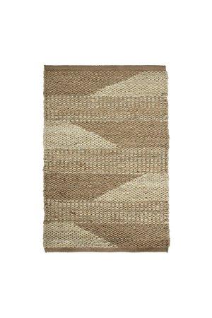 Tine K Home Jute tapijt, tweekleurig patroon - naturel, verschillende maten