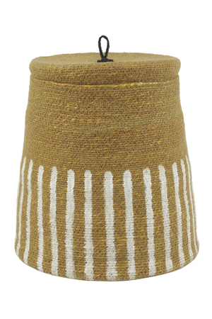 Caravane Basket 'Topee' - curcuma