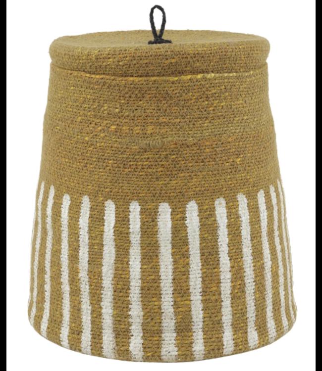 Basket 'Topee' - curcuma