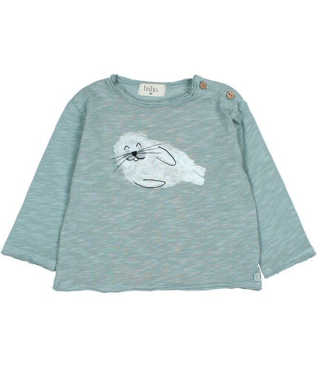 Seal t-shirt - storm grey