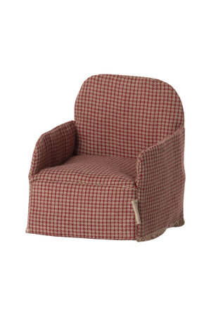 Maileg Chair, mouse - red