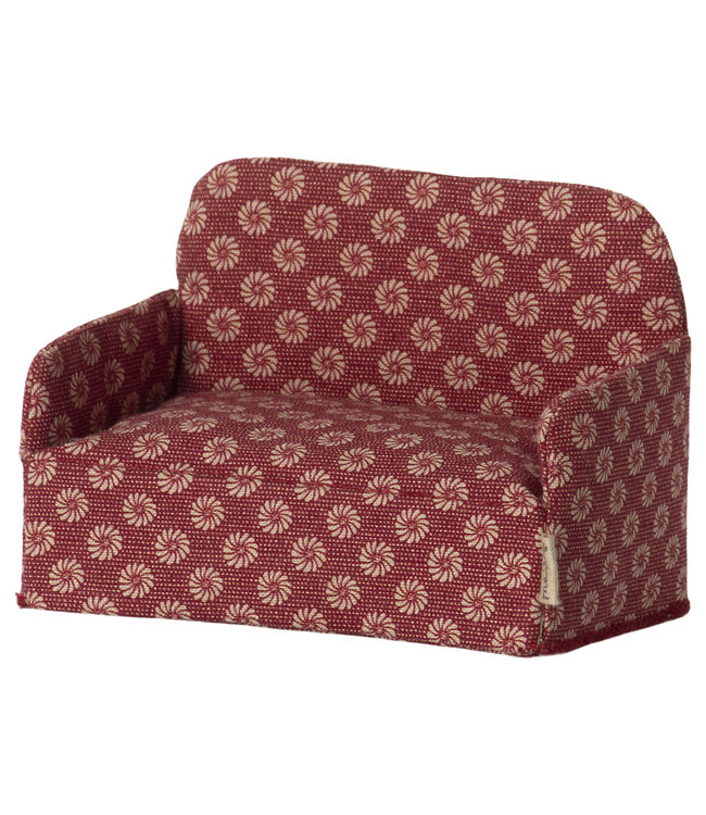 Couch, mouse - red