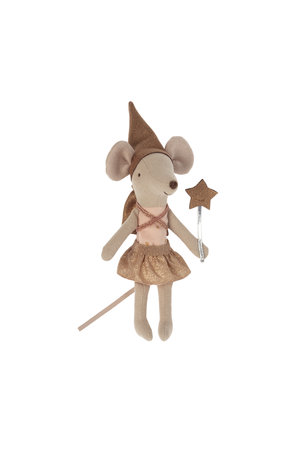 Maileg Tooth fairy mouse in matchbox - rose