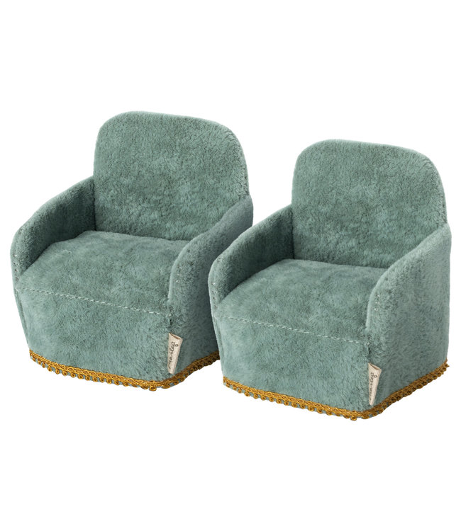 Maileg Chair - 2 pack, mouse