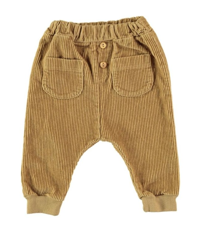 Pau corduroy pants - mustard