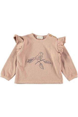 Bean's Barcelona Abril jersey sweatshirt bird - pink