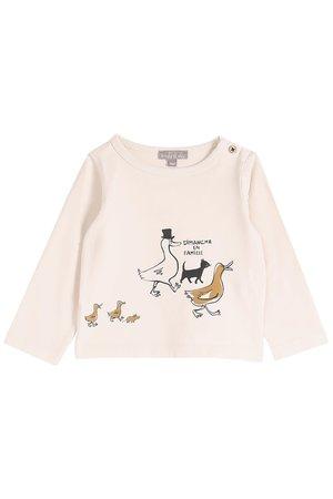 Emile et ida Tee shirt - marine en famille