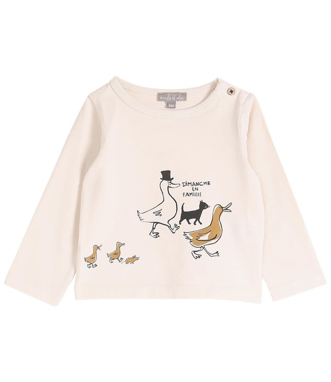 Tee shirt - marine en famille