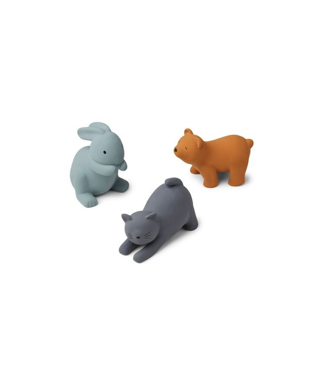 Liewood David toys 3-pack - blue multi mix