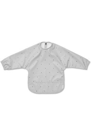 Liewood Merle cape bib - classic dot dumbo grey