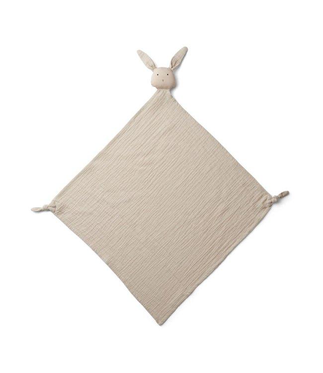Liewood Robbie multi muslin cloth - rabbit sandy