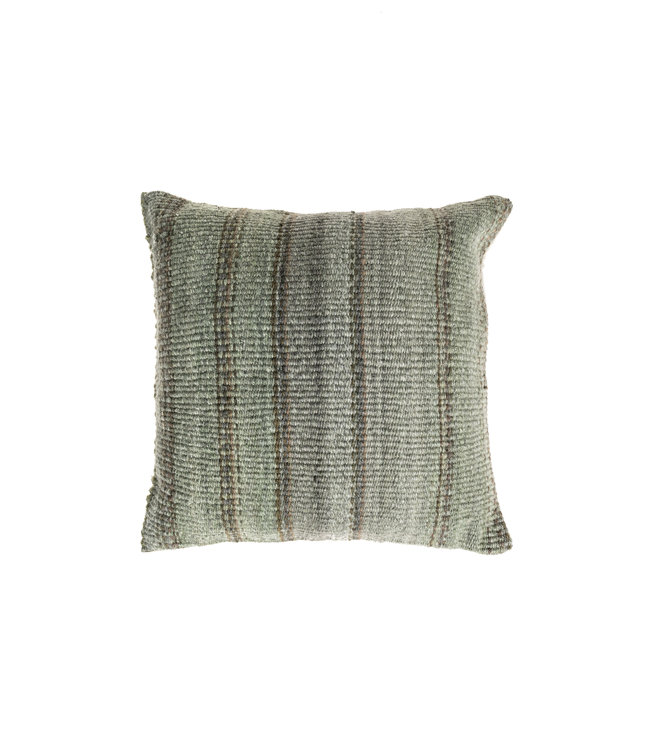 Cushion alpaca - tola green