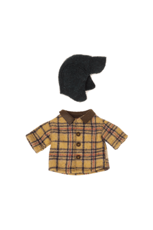 Maileg Woodsman jacket and hat for teddy dad