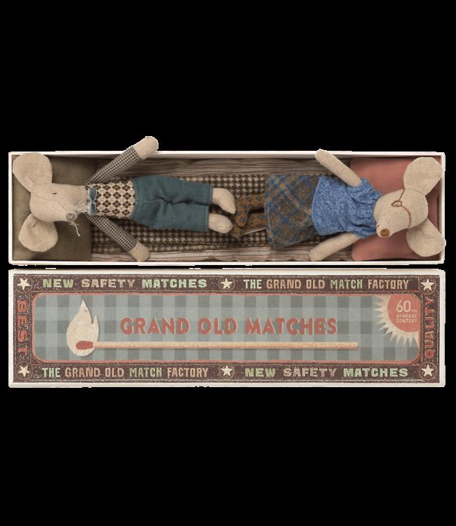 Maileg Grandma and grandpa mice