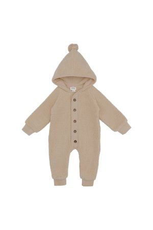 Kidwild Collective Sherpa baby suit