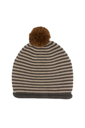 Kidwild Collective Organic striped knitted hat