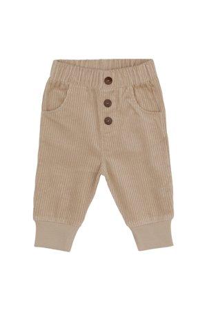Kidwild Collective Organic corduroy pants - almond