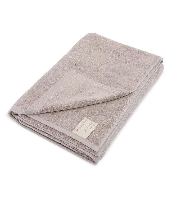 Towel big strands havet - paloma grey