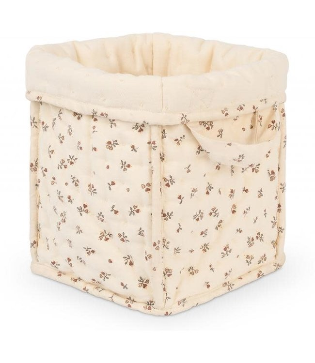 Konges Sløjd Small quilted box - petit amour rose