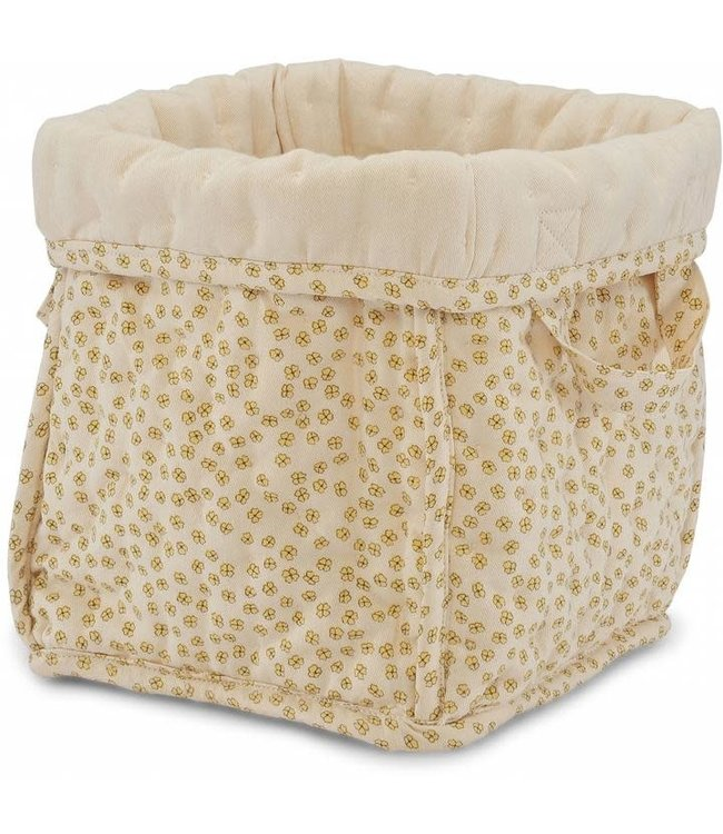 Konges Sløjd Small quilted box - buttercup yellow