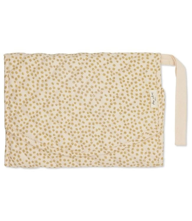 Changing pad - buttercup yellow
