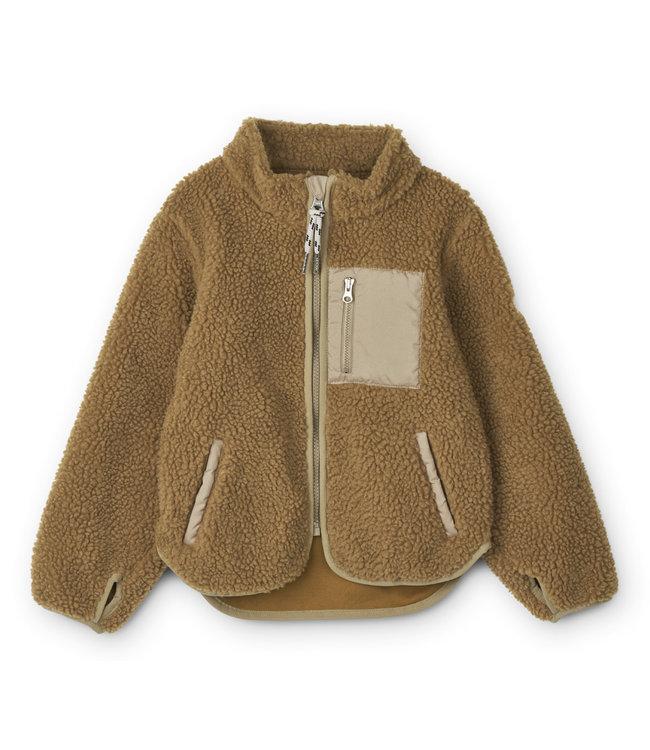 Liewood Nolan jacket - golden caramel