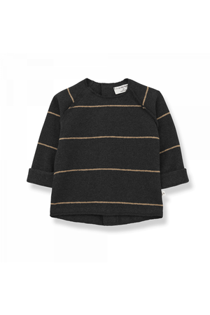 1+inthefamily Gaspard baby sweater - charcoal