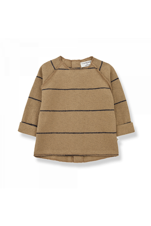 1+inthefamily Gaspard baby sweater - brandy