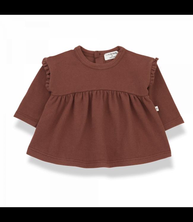 Neus blouse - brick