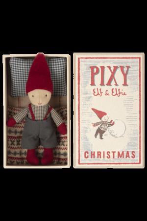 Maileg Pixy elf in matchbox