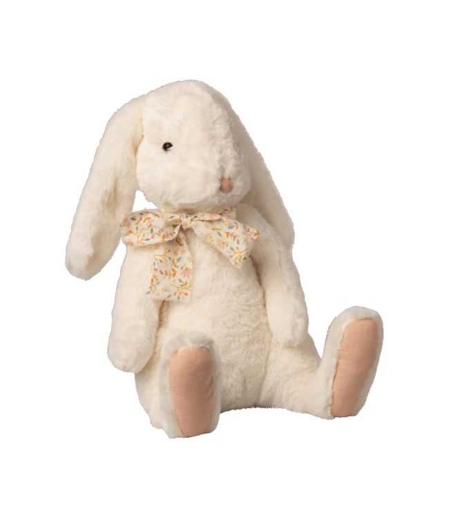 Maileg Fluffy bunny, X-large - white