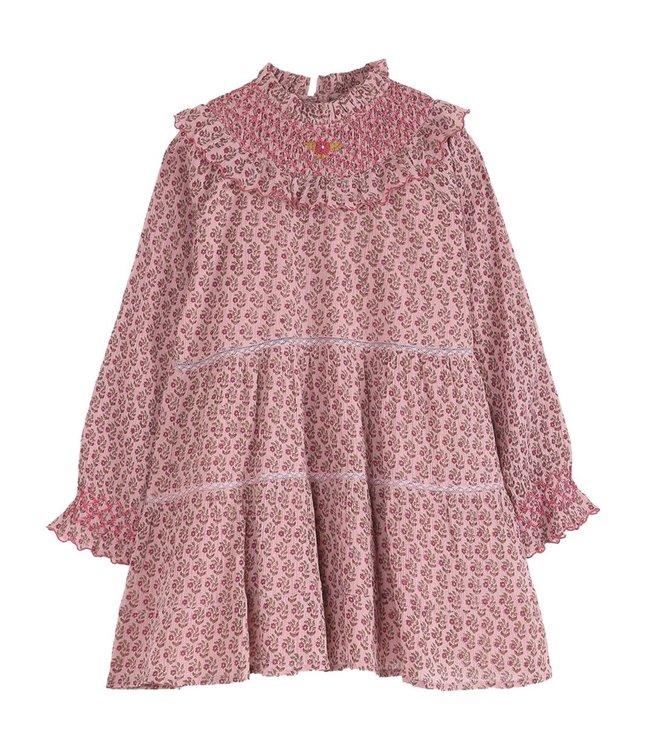 Robe - paquerette rose