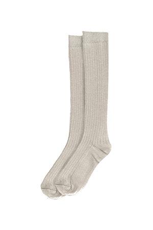 My little cozmo Rib long socks - stone